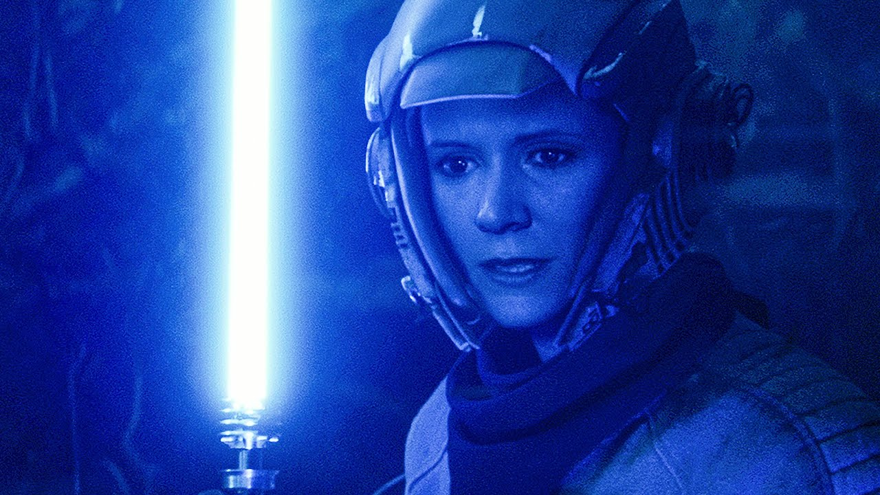 Leia's Jedi Training Sequence in 'The Rise of Skywalker' Was ...